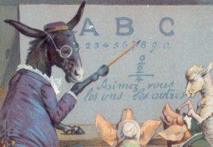 Professeur âne
