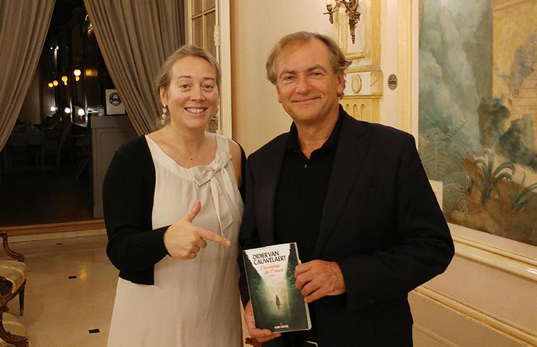 Didier Van Cauwelaert, souffleur d'histoires